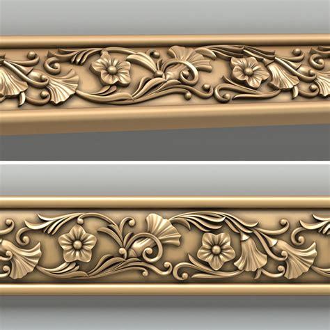decorative trim molding 3d decorative molding model