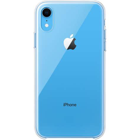 apple iphone xr clear case mrwzma bh photo video