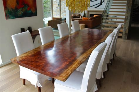 african bubinga dining table surely a focal point of