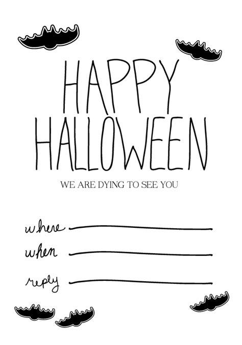 free printable halloween invitations black white halloween printable invites happy applehappy apple