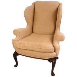 georgian style upholstered wingback armchair for sale at