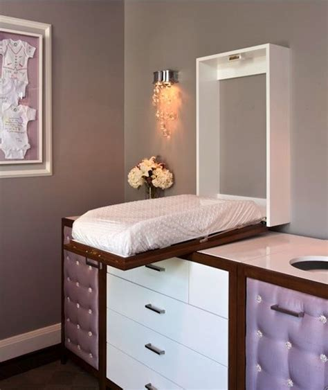 Space Saving Changing Table Omg Gorgeous Baby Changing Table Nurseries Remember This Save And Ideas