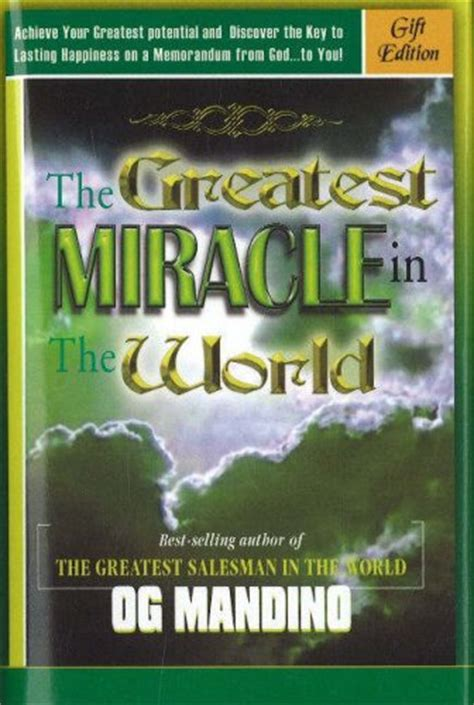 S Greatest Miracle Free The Greatest Miracle In The World Summary And Analysis Like Sparknotes Free Book Notes