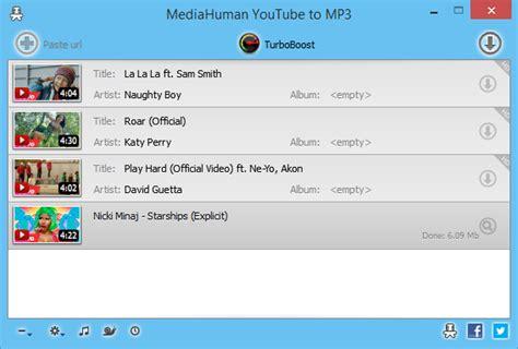 download youtube mp3 mediahuman mediahuman youtube to mp3 converter download freeware de