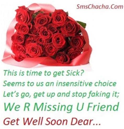 get well soon sms messages and status collection