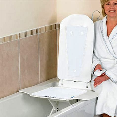 bathmaster deltis bath lift with white covers bathmaster bath lifts complete care shop