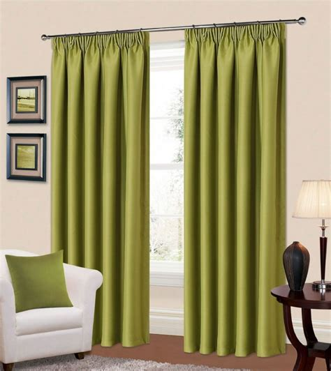 green bedroom curtains plain green colour thermal blackout readymade bedroom
