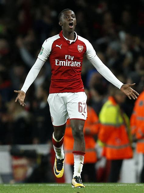arsenal nketiah eddie nketiah meet arsenal s carabao cup saviour who