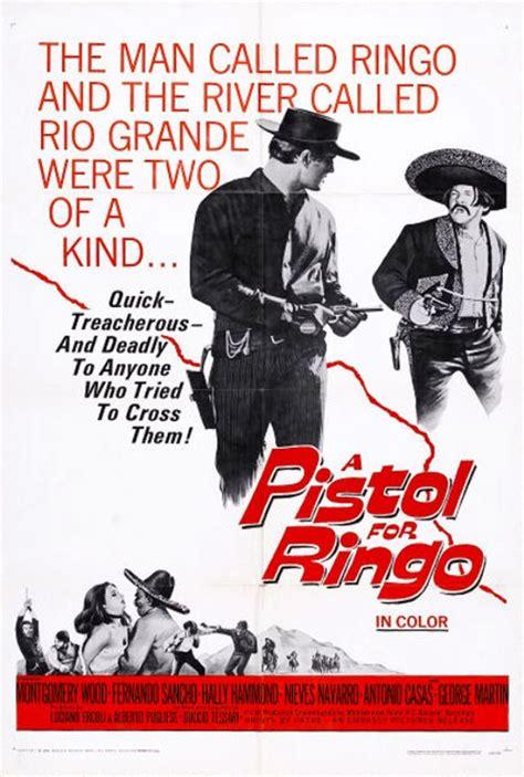 film western un pistolet pour ringo un pistolet pour ringo una pistola per ringo 1965