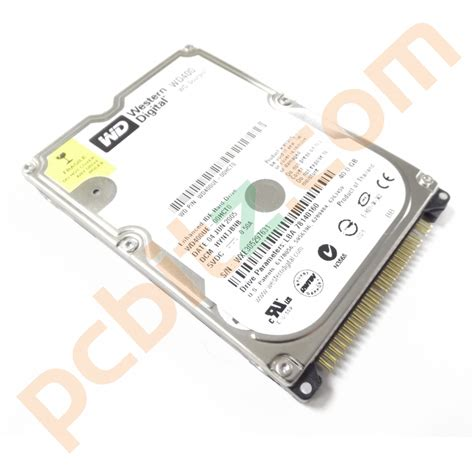 Harddisk Laptop Ide 40gb western digital wd400ue 00hcto 40gb ide 2 5 quot laptop drive ebay