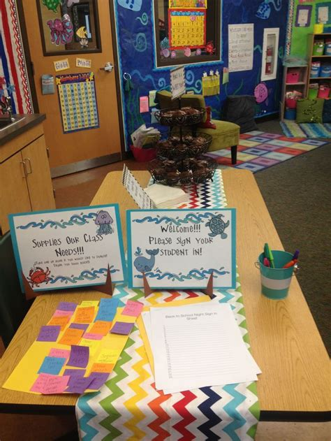 Back To School Night Activities Pre K Back To School Pre K Open House Ideas