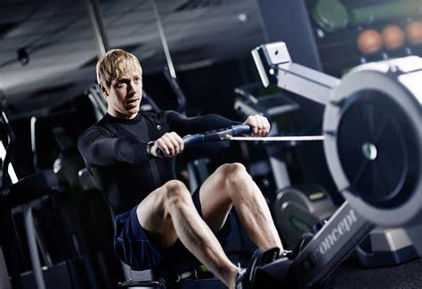 roeien sportschool gym workout oliver suckling
