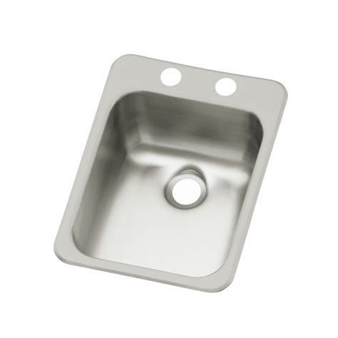 drop in bar sink shop sterling drop in stainless steel bar sink at lowes com