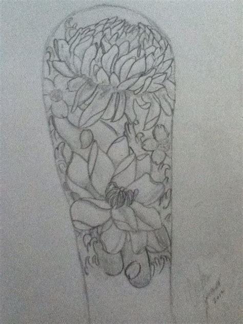 quarter sleeve tattoo sketches clouds half sleeve tattoos sketches quarter sleeve