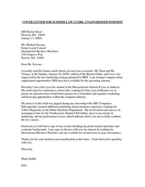 example cover letter for internship resume badak