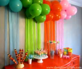 Decoration Ideas For Party At Home by 1st Birthday Decoration Ideas At Home For Party Favor