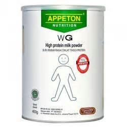 Appeton Weight Gain Umur 20 kategori penambah berat badan gogobli