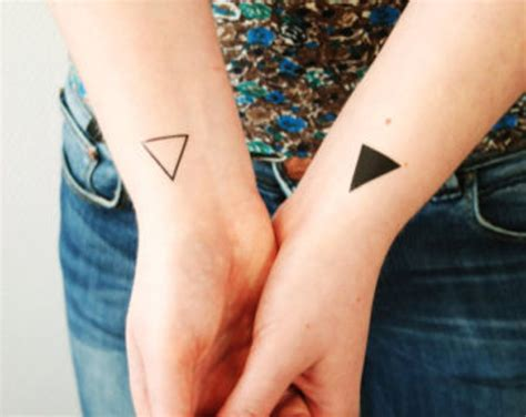 68 magnificent triangle wrist tattoos