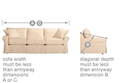how to measure sofa measuring for your delivery what not s