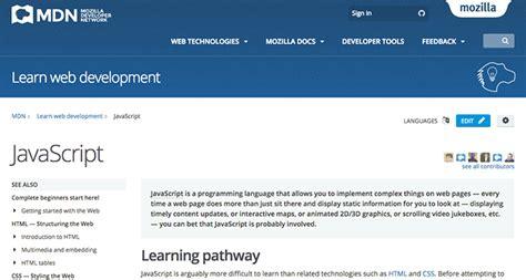 tutorial javascript mozilla learn web development with these web developer courses
