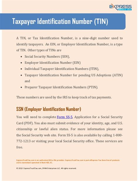 certification letter for tin number taxpayer identification number tin