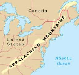 appalachian mountains canada map the appalachians howstuffworks