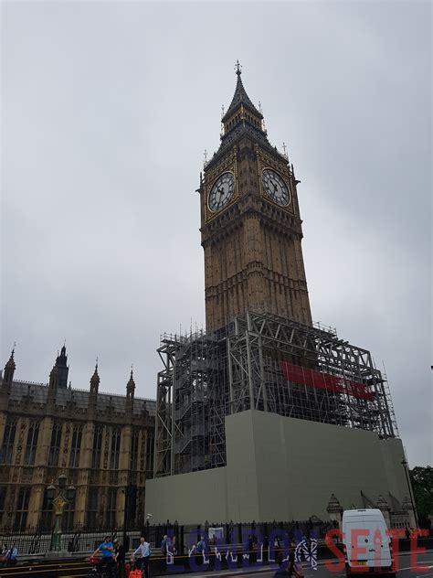 Big Ben Restaurierung Glocken Bleiben Stumm Londonseite