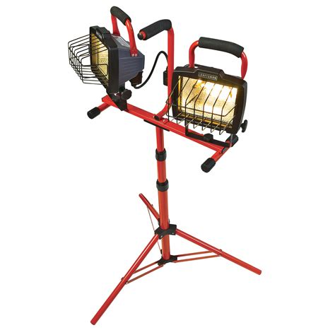 craftsman 14204 1000 watt tripod worklight includes