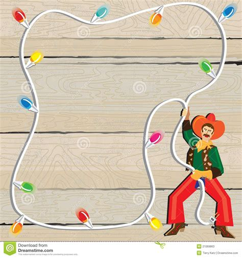 imagenes de navidad vaqueras invitaci 243 n del lazo de la navidad del vaquero