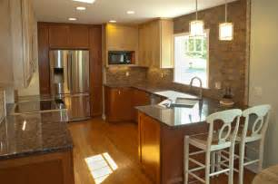 Opening Kitchen To Dining Room Open Up Kitchen And Dining Room After Traditional Kitchen Minneapolis By Bridgewater