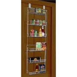 Hanging Pantry Door Organizer by The Door Storage Rack Organizer 6 Shelf Hanging