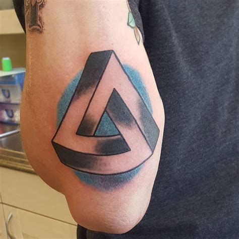 meaning of a triangle tattoo 25 best triangle meanings ideas on