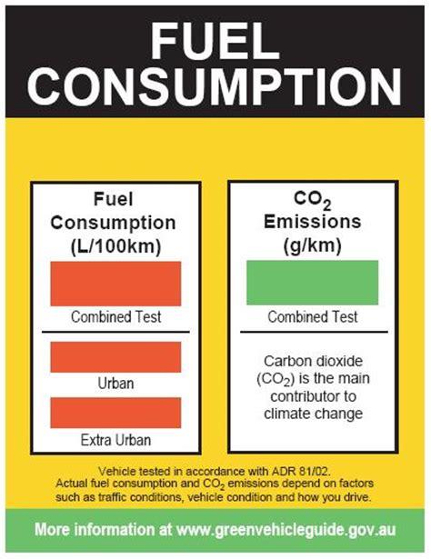 motor vehicle fuel consumption official fuel consumption figures explained practical