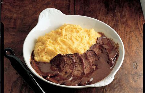 cucina brasato ricetta codone di manzo brasato le ricette de la cucina