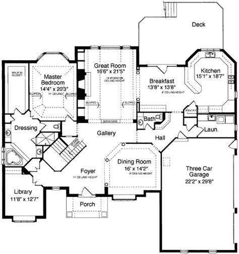 foyer plan grand foyer design 39097st 1st floor master suite