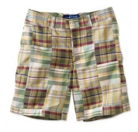 Womens Madras Patchwork Shorts - s madras patchwork c are a summer