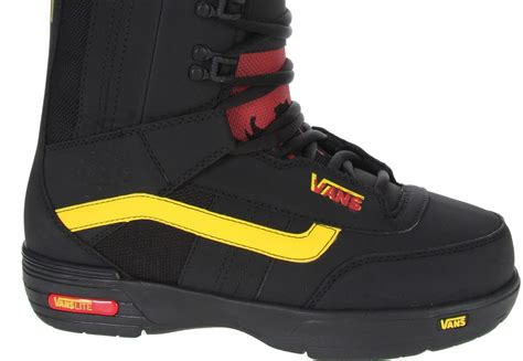 review vans hi standard snowboard boots the house