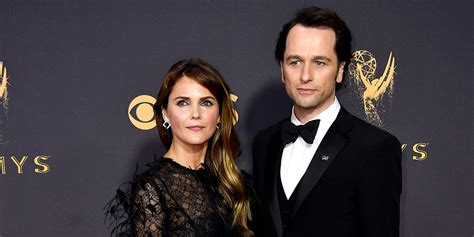 matthew rhys emmy win video keri russell matthew rhys pose together on the emmys