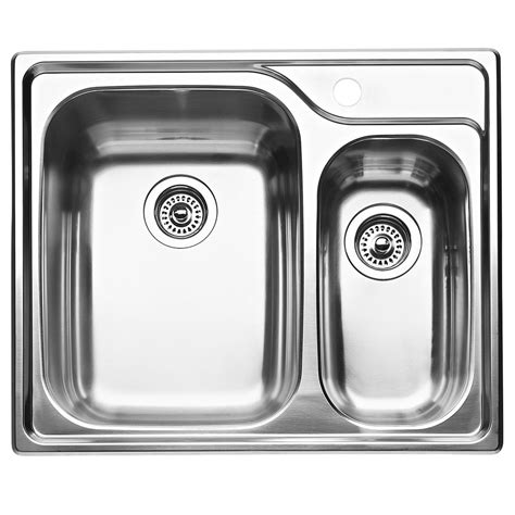 1 1 2 Bowl Kitchen Sink Blanco 1 1 2 Bowl Topmount Stainless Steel Kitchen Sink The Home Depot Canada