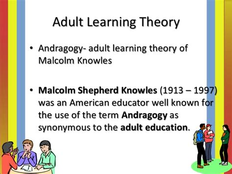 Andragogy Learning Theory Mba by Characteristics Of Learning Principles