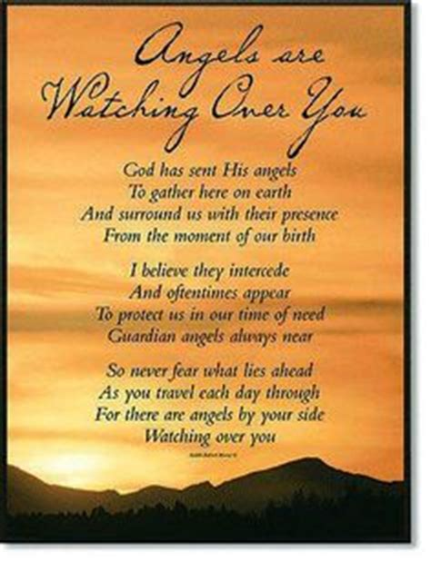 Angel Watching Over You Poem