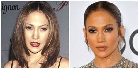 jennifer lopez eyebrows 14 celebrities who totally recovered from 90s eyebrows