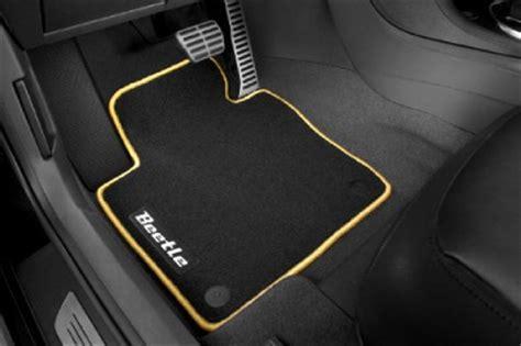 Vw Bug Floor Mats by New Oem Volkswagen Beetle Mojo Carpet Floor Mats Yellow