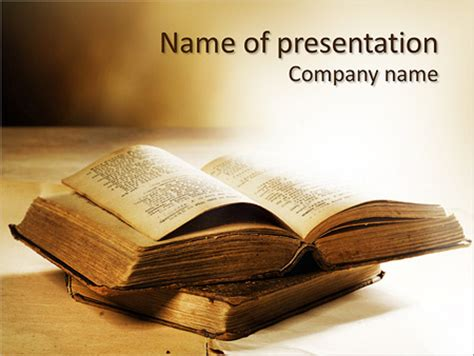 Bible Book Powerpoint Template Backgrounds Id 0000004372 Smiletemplates Com Bible Powerpoint Templates