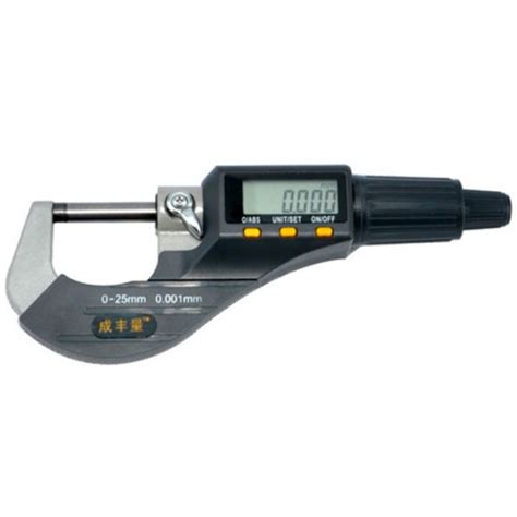 Micrometer 0 25mm 0 001mm high quality 0 25mm micron digital outside micrometer electronic micrometer 0 001mm