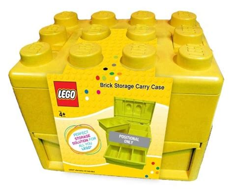 Lego Brick Now Carries Data by Comaco Toys Lego Brick Storage Carry Yellow