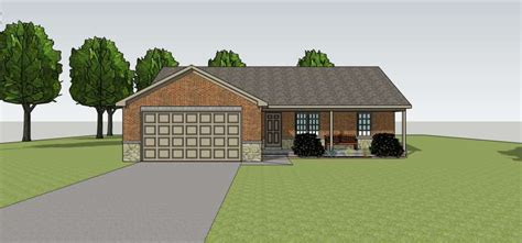 hdg design home group small ranch front elevation home design group