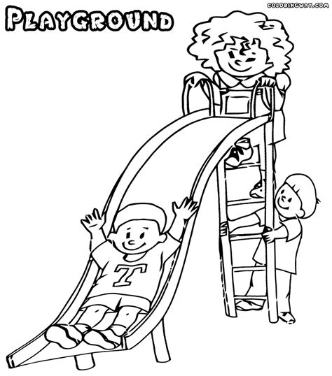 coloring pages school playground playground coloring pages coloring pages to download and