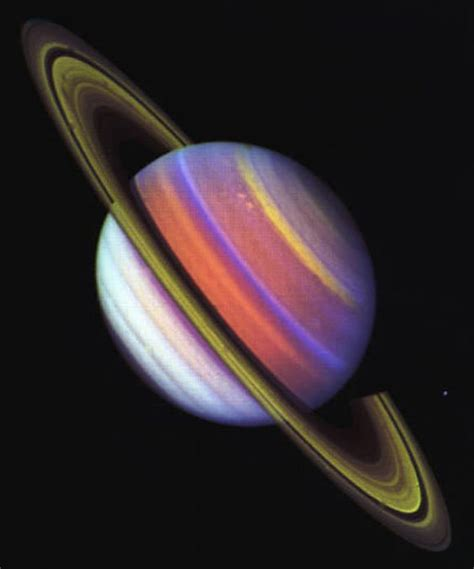 voyager pictures of saturn saturn planet image from voyager space sagan