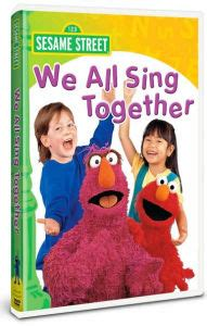 sesame street we all sing together 74645132990 dvd barnes noble 174